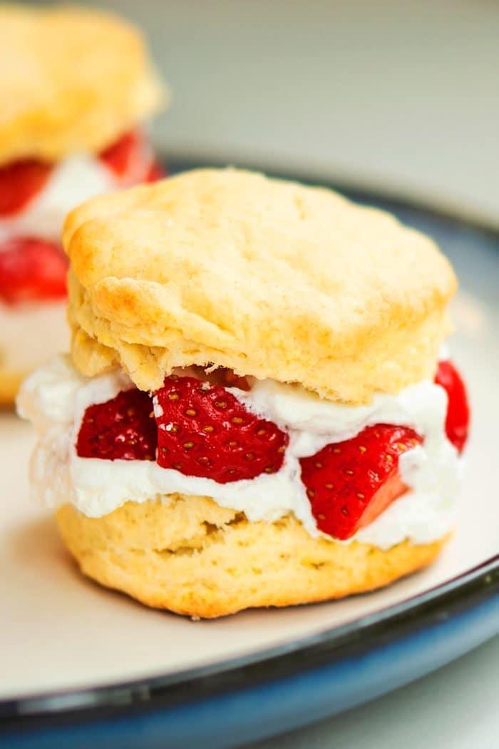 Easy Bisquick Strawberry Shortcake