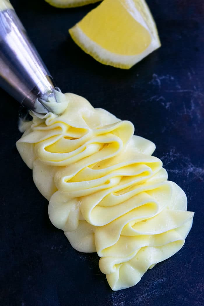Lemon Cream Cheese Frosting Recipe