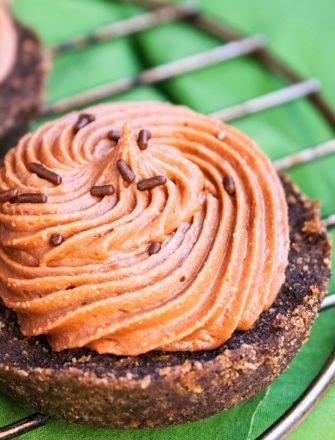 Mini No Bake Nutella Cheesecake Recipe
