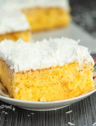 Easy Pineapple Cake Recipe (With Cake Mix)
