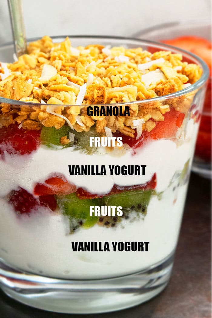 How to Make Yogurt Parfait