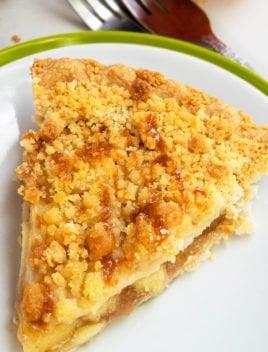 Easy Apple Crumble Pie Recipe