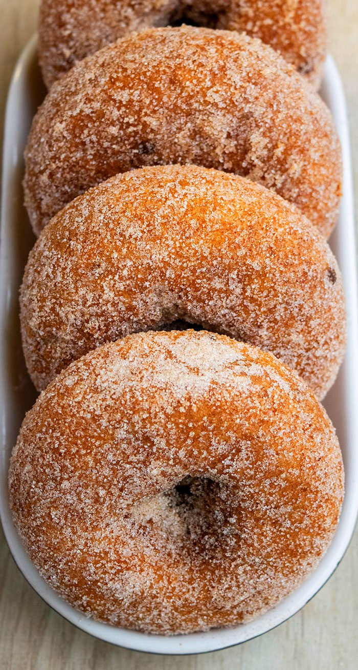 Homemade Apple Cider Donut Recipe