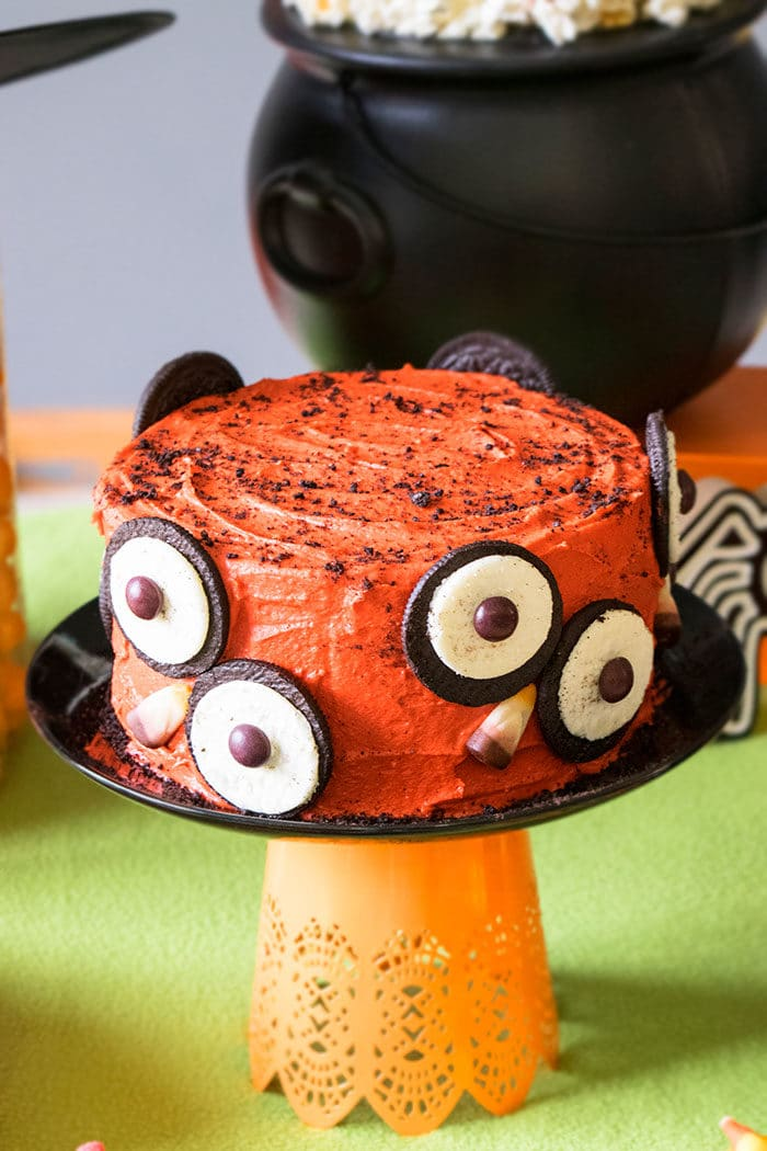 Halloween Cake- Owl Cake