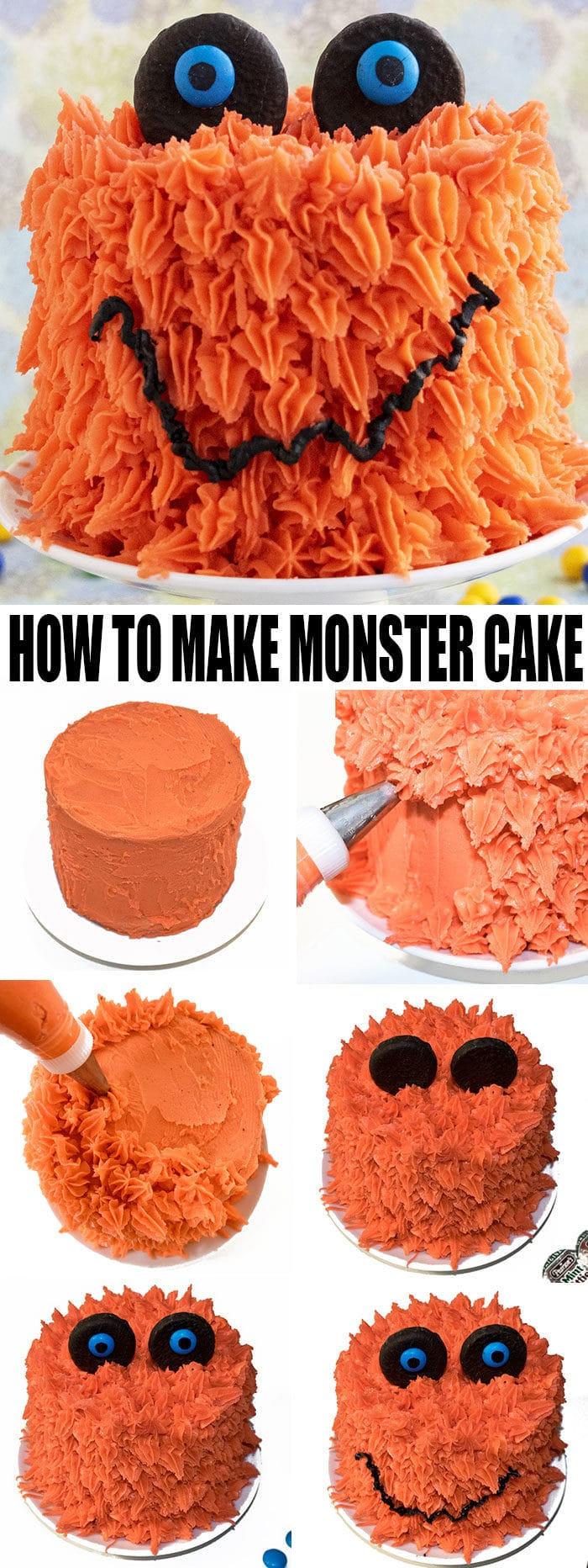 How to Make Monster Cake- Step by Step Instructions