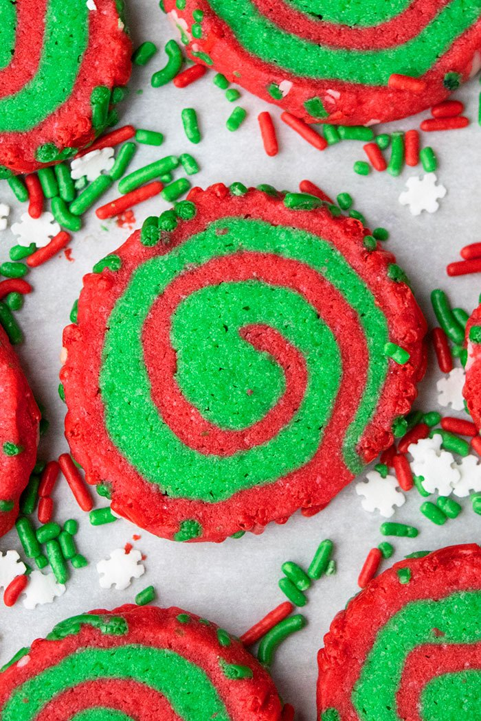 Christmas Pinwheel Cookies Recipe