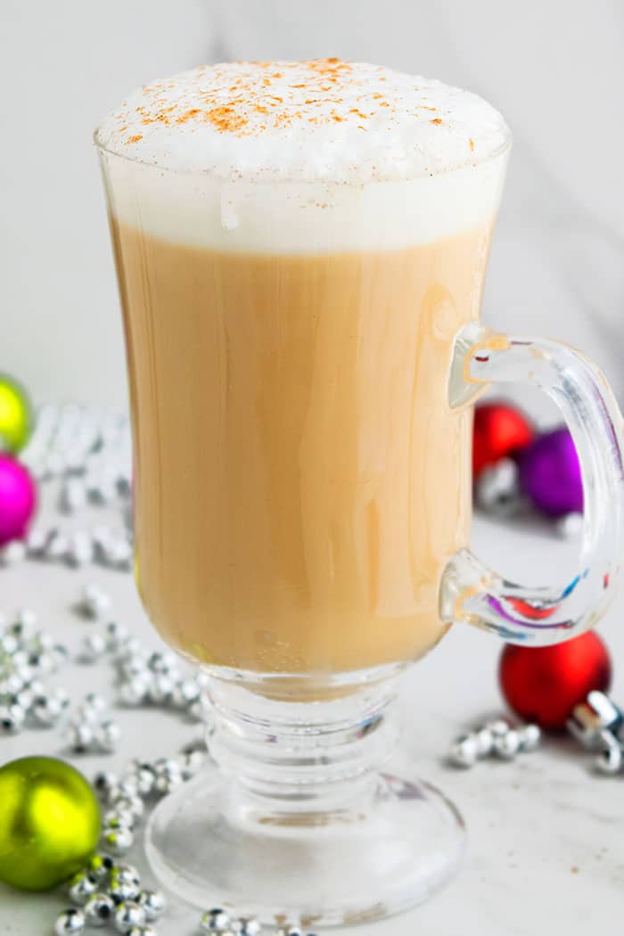 Homemade Eggnog Latte Recipe