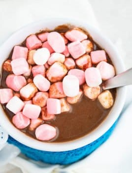 Easy Crockpot Hot Chocolate Recipe