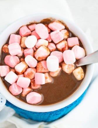 Easy Crockpot Hot Chocolate Recipe
