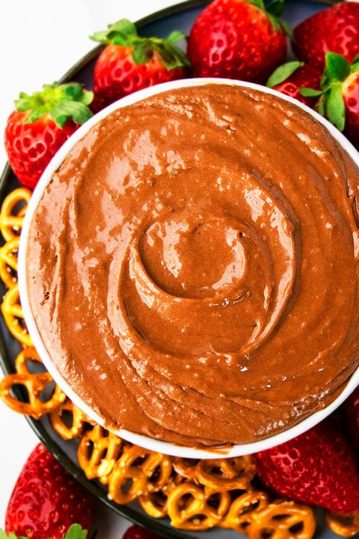 Easy Chocolate Dip For Fruit Recipe