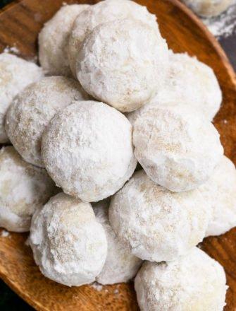 Easy Pecan Snowball Cookies Recipe