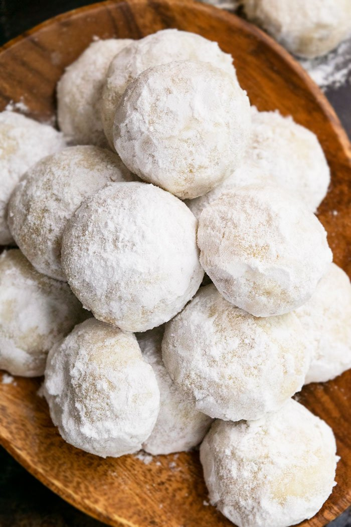 Easy Pecan Snowball Cookies Recipe