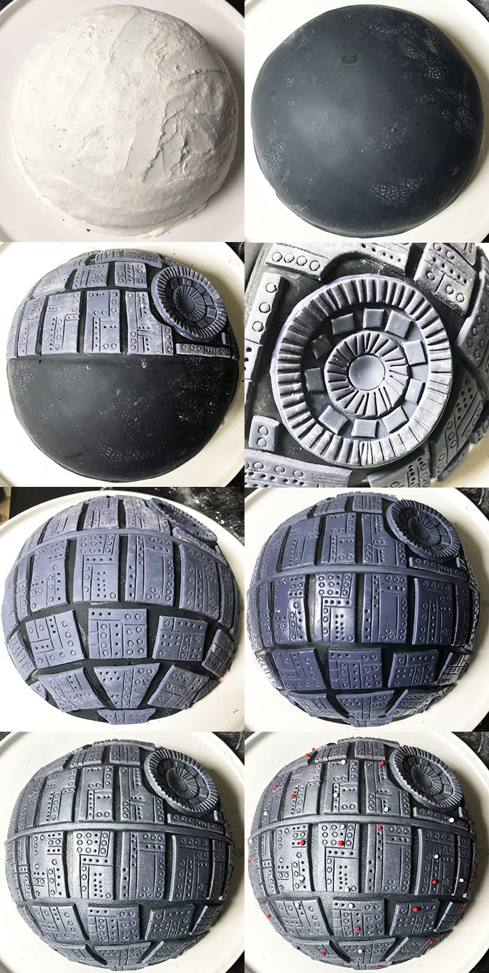 How to Make Star Wars Cake- Step By Step Tutorial