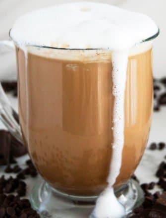 Easy Homemade Mocha Latte Recipe