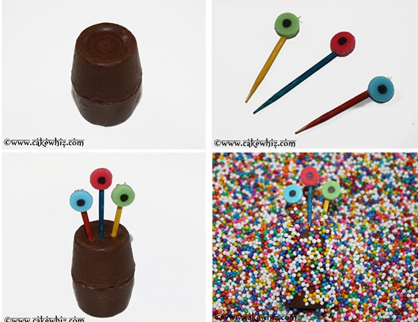 Step by Step Instructions for Chocolate Monsters