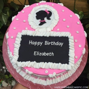 Elizabeth Happy Birthday Cakes Pics Gallery