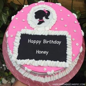 Honey Happy Birthday Cakes Pics Gallery
