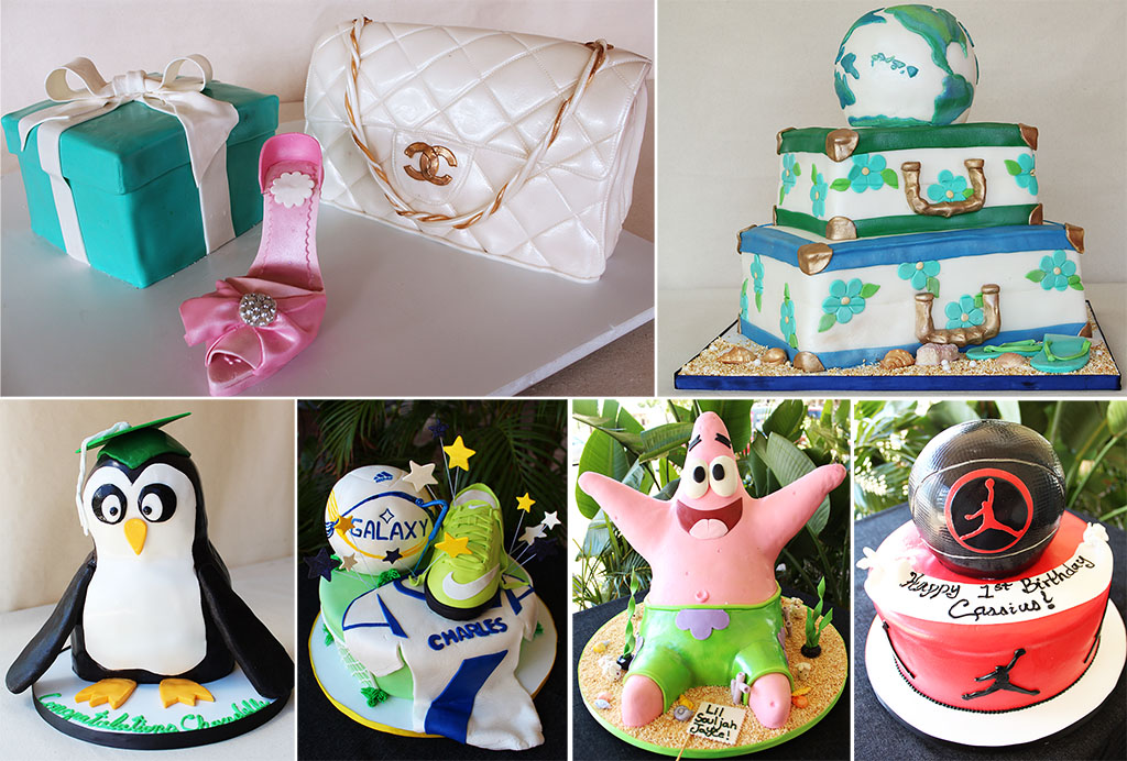 Baby Shower Cakes Honolulu ~ Custom cakes cakeworks bakery