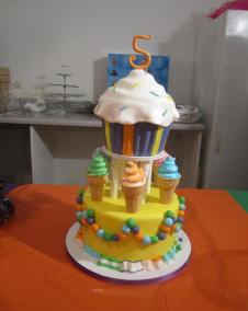 Cup cake & IceCream