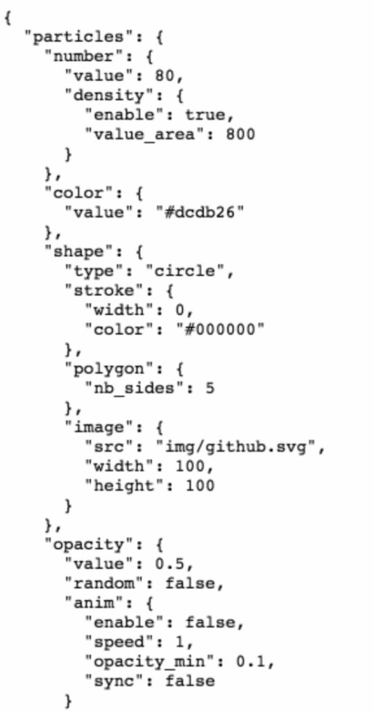 particlejs-code-example