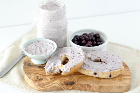 Blueberry Cream Cheese Spread