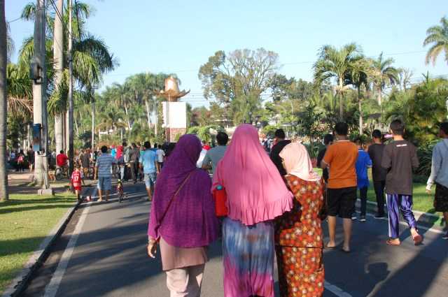 car free day malang kota