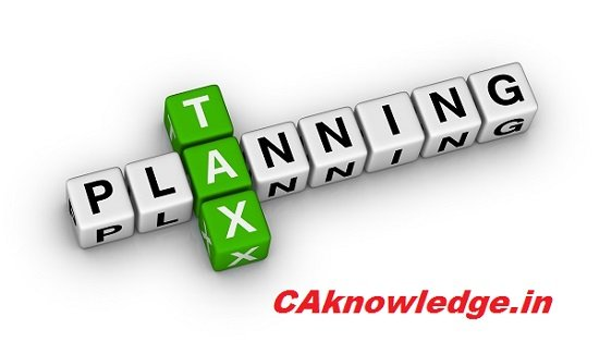 Tax Planning for Salaried Individual CAknowledge