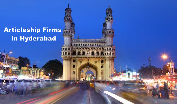 CA Articleship Firms Hyderabad