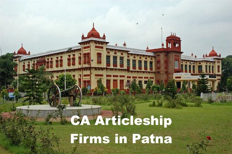 CA Articleship Firms Patna