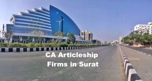 CA Articleship Firms Surat