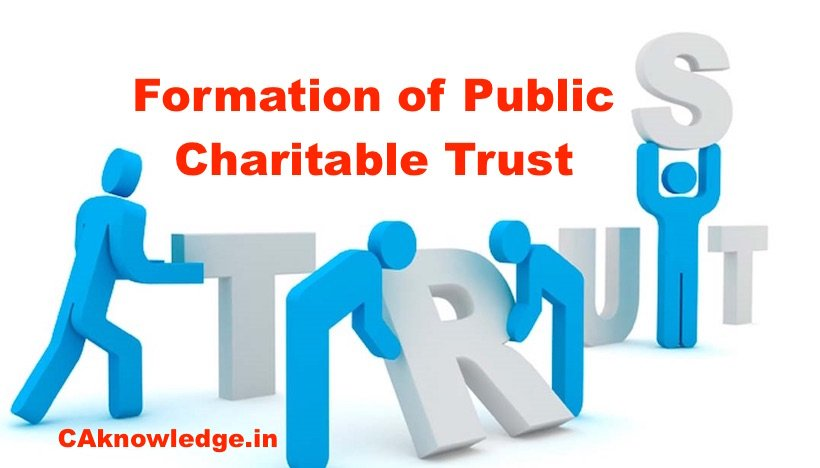 Formation of a Public Charitable Trust