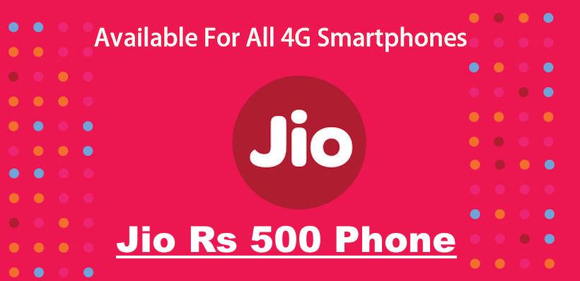 Jio 500 Phone