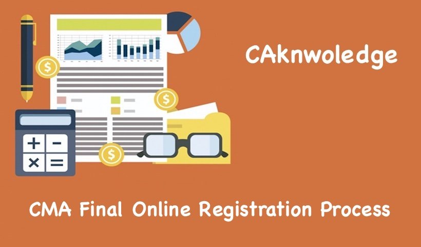 CMA Final Online Registration Process