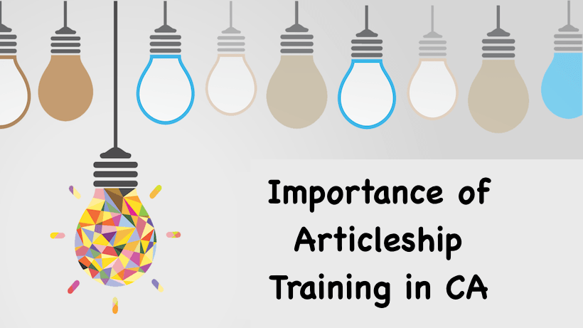 Importance of Articleship Training in CA