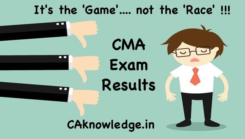 CMA Exams Failures