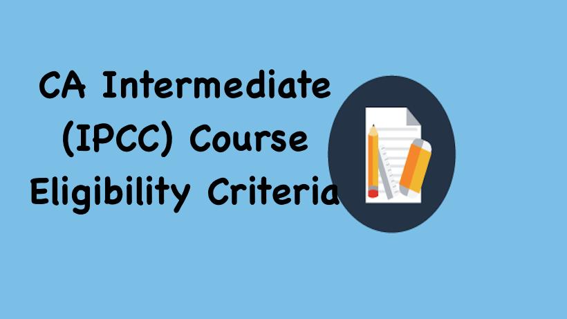 CA Intermediate Eligibility