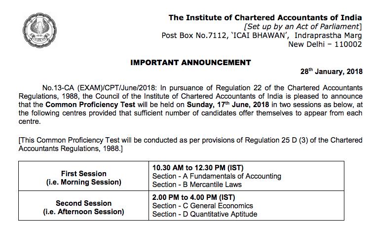CPT Exam Date