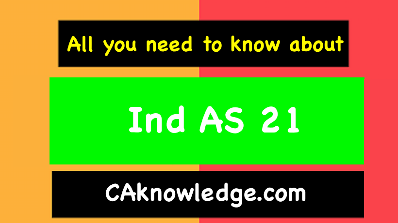 Ind AS 21