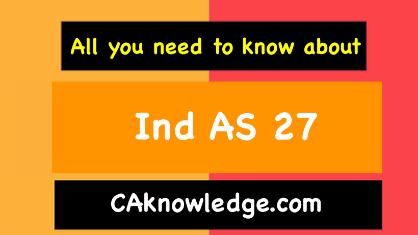 Ind AS 27