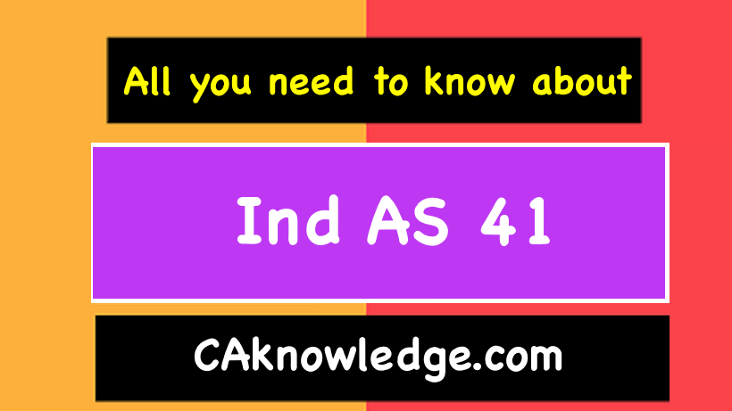 Ind AS 41