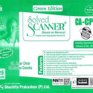 CA CPT Accounts Solved Scanner by Amar Omar