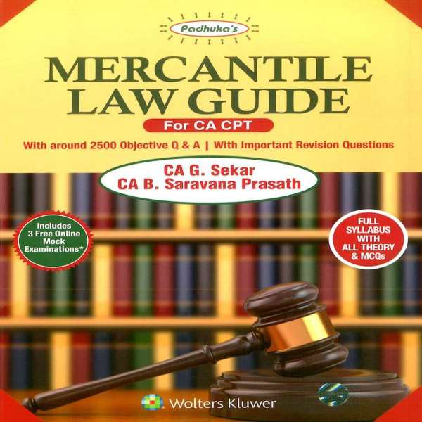 CA CPT Mercantile Law Guide By G Sekar