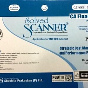 CA Final SCM and PE Scanner by Arpita Ghose