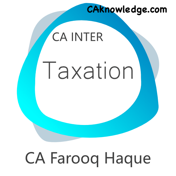 CA Inter Taxation Video Lectures