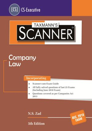 CS Executive Company Law Scanner by NS Zad new