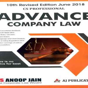 CS Professional Advance Company law and Practice