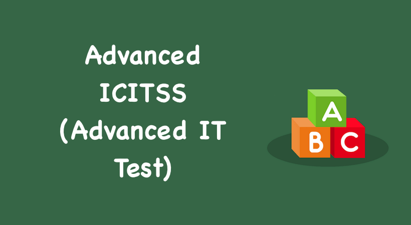 Advanced ICITSS