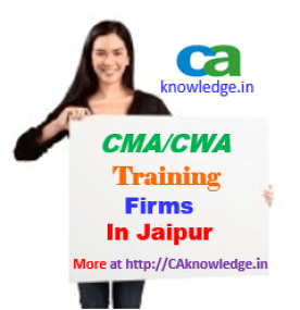 CWA Training Firms in Jaipur