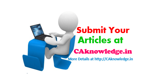 Submit Your articles at caknowledge.in