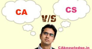 Comparison Between CA Course and CS Course, CA vs CS